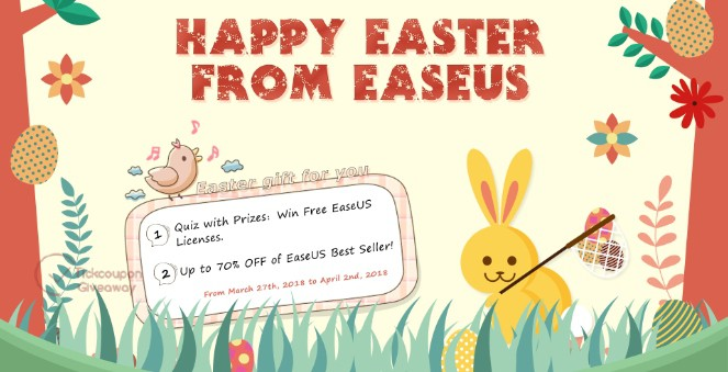 EaseUS software giveaway