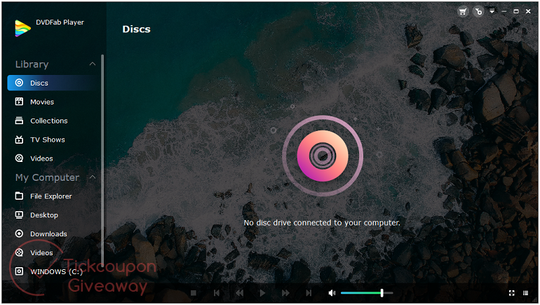Dvdfab Player Screenshot