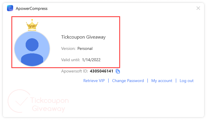 Apowercompress Giveaway License Vip Account