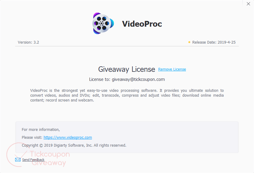 VideoProc Full License Key for Free