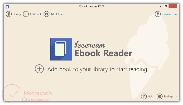 Icecream Ebook Reader Pro Screenshot