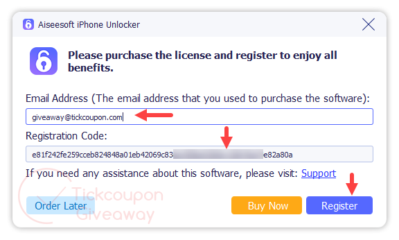 Aiseesoft Iphone Unlocker Registration Code
