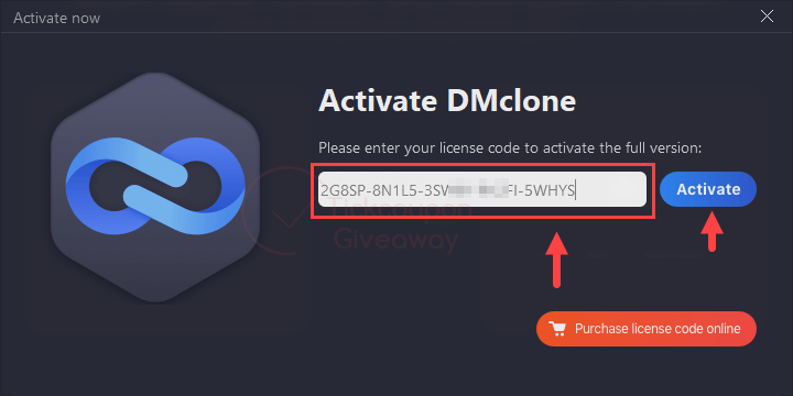 Dmclone For Windows License Code Free