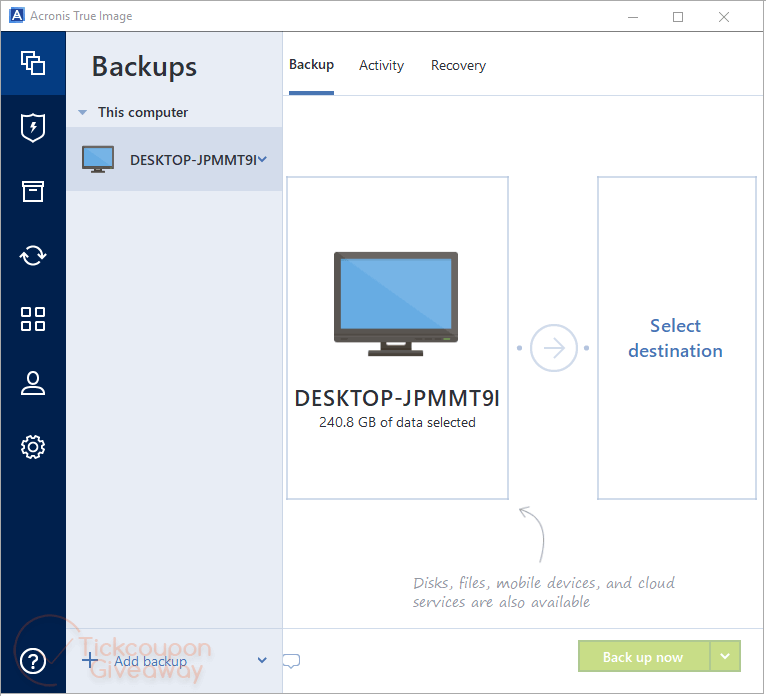 Giveaway: Acronis True Image 2021 Essential License Key Free