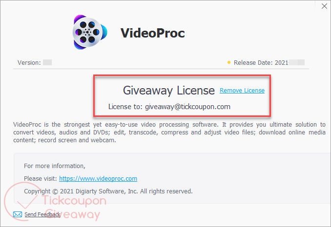 videoproc full license key free for windows and mac