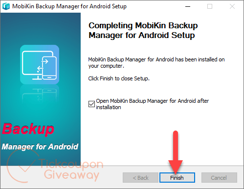 install mobikin backup manager for android